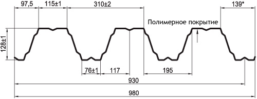Профнастил ТПК